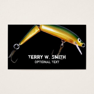 Fishing Lure Business Card