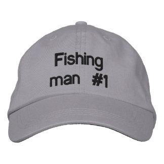 Fishing man #1 baseball cap