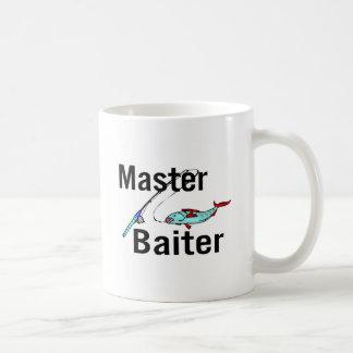 Fishing Master Baiter Basic White Mug