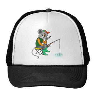 Fishing Mouse Cap