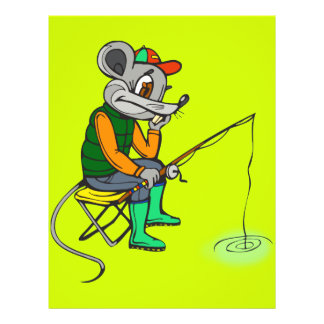 Fishing Mouse Flyers