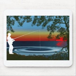 Fishing Mouse Mat