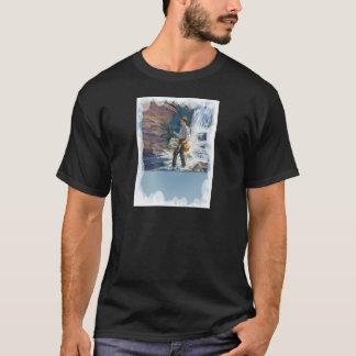Fishing near the waterfall T-Shirt