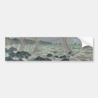 Fishing Nets at Pourville by Claude Monet Bumper Sticker