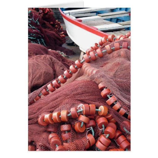 Fishing nets cards
