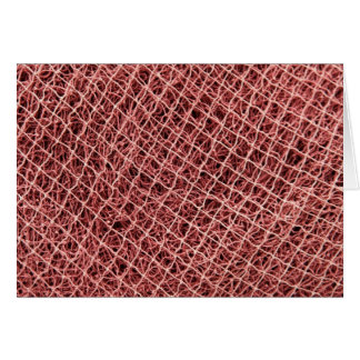 Fishing nets greeting cards