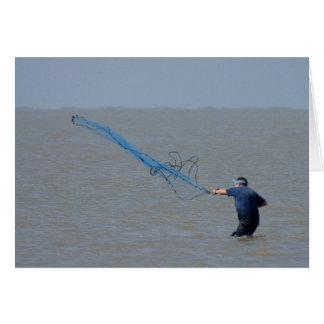 Fishing Nets Ocean Card