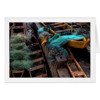 Fishing Nets on Ghanain Boats Card