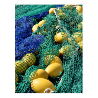 Fishing nets post cards