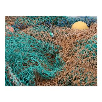 Fishing Nets Postcard