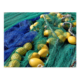 Fishing nets post card