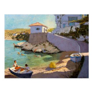Fishing Nets Samos 2005 Postcard