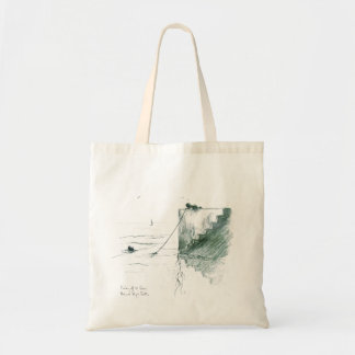 Fishing off the Quay Tote Bag