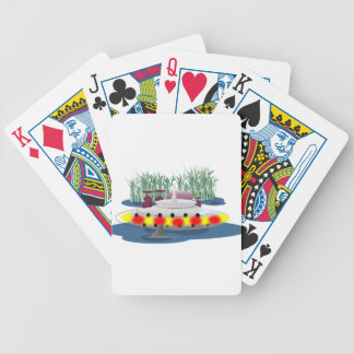 Fishing, or being fished? bicycle playing cards