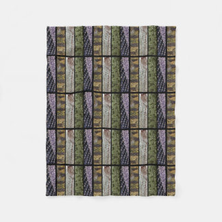 Fishing pattern | fleece blanket