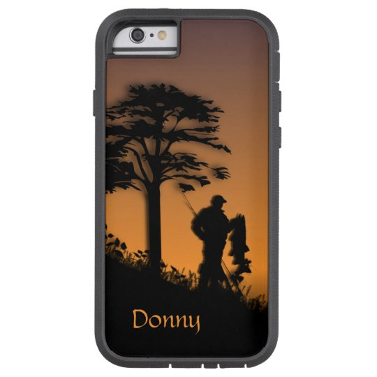 Fishing Personalised Tough Xtreme iPhone 6 Case