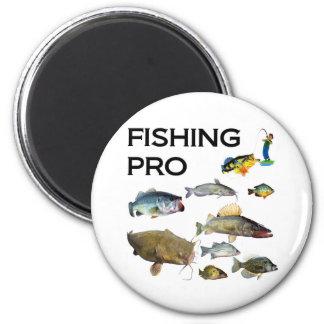 Fishing Pro 6 Cm Round Magnet