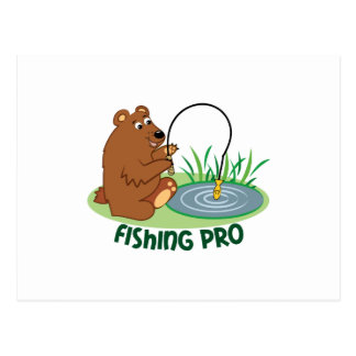 Fishing Pro Postcard