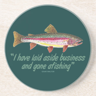 Fishing Quote Coaster
