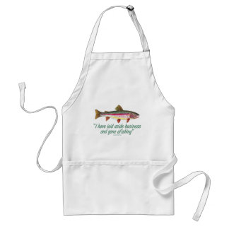 Fishing Quote Standard Apron