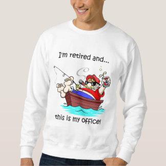 Fishing retirement sweatshirt