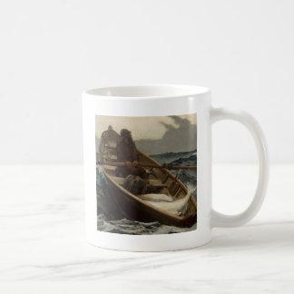 Fishing Rowboat Winslow Homer Mugs