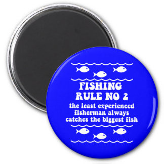 Fishing Rule No 2 6 Cm Round Magnet