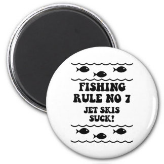 Fishing Rule No 7 6 Cm Round Magnet