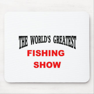 fishing show mouse pad