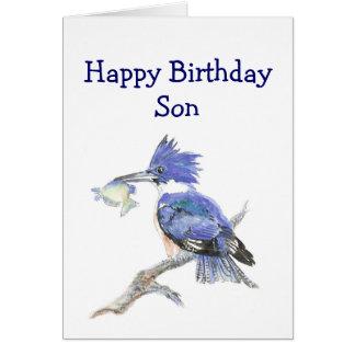 Fishing Son  Birthday Humor - The Kingfisher Card