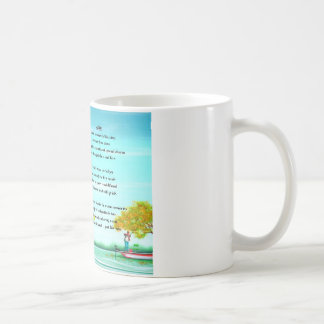Fishing Son poem Mug