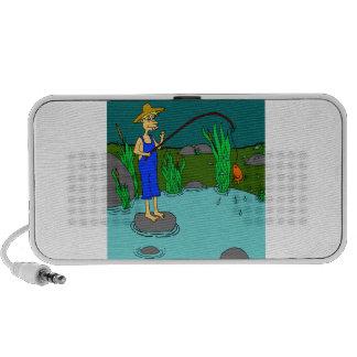 fishing speaker system
