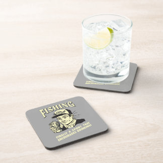 Fishing: Sport Encourages Drinking Beverage Coasters