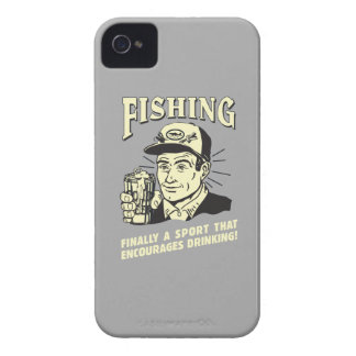 Fishing: Sport Encourages Drinking iPhone 4 Cover