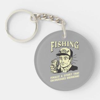 Fishing: Sport Encourages Drinking Key Ring