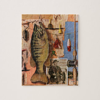 Fishing Still Life by John Atherton Puzzle