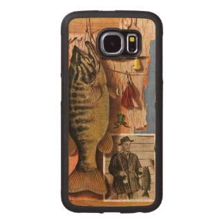 Fishing Still Life by John Atherton Wood Phone Case