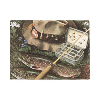 Fishing Still Life Doormat