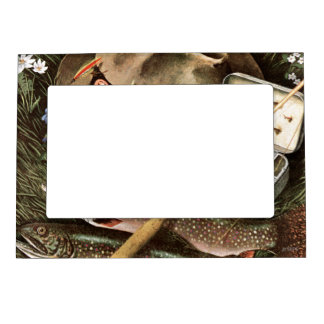 Fishing Still Life Magnetic Frames
