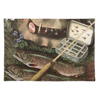 Fishing Still Life Placemat