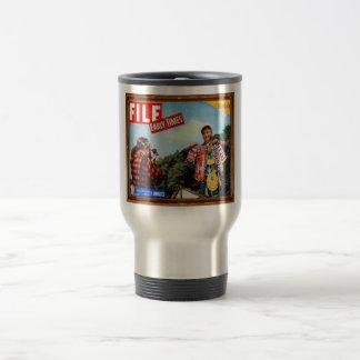 fishing story stainless steel travel mug