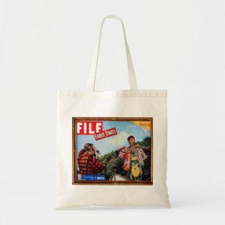 fishing story tote bag