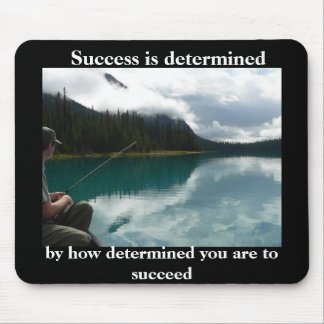 fishing success mouse pad
