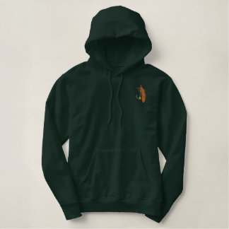 Fishing Tale Embroidered Hoodie