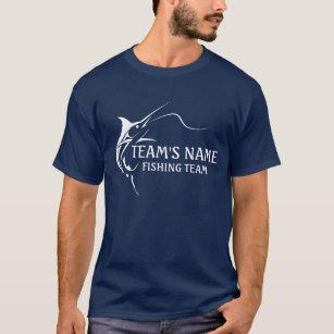 Fishing team clothing apparel for Fishing team names
