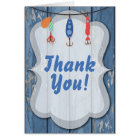 Fishing Thank You Note Card