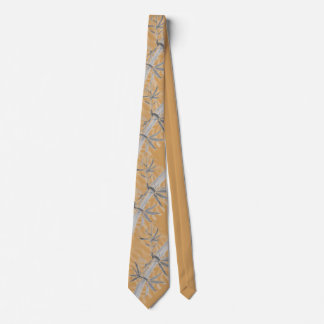 Fishing Tie (Bamboo with Mayfly)