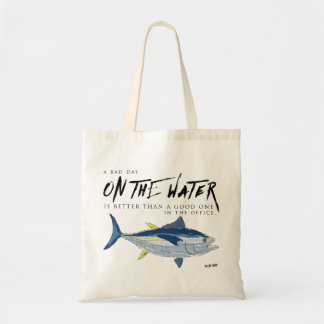 Fishing tote bag for boat, boater gift fishing bag