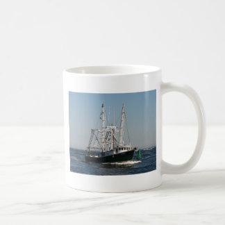 Fishing Trawler Photo Basic White Mug