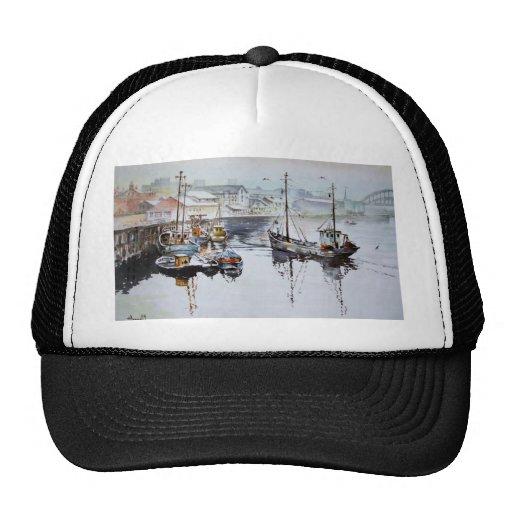Fishing Trawlers Cap Trucker Hat